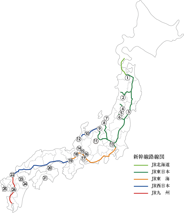 百年料亭 ネットワーク 料亭位置図